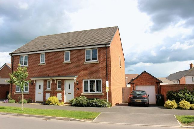 Thumbnail Semi-detached house to rent in Hercules Road, Calne