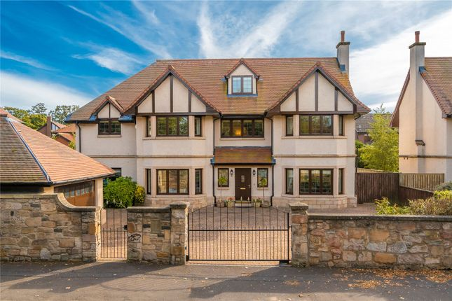 Thumbnail Detached house for sale in Gamekeeper's Road, Barnton, Edinburgh
