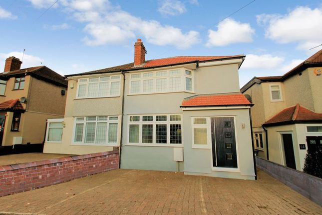 Thumbnail Semi-detached house for sale in Fairwater Avenue, Welling