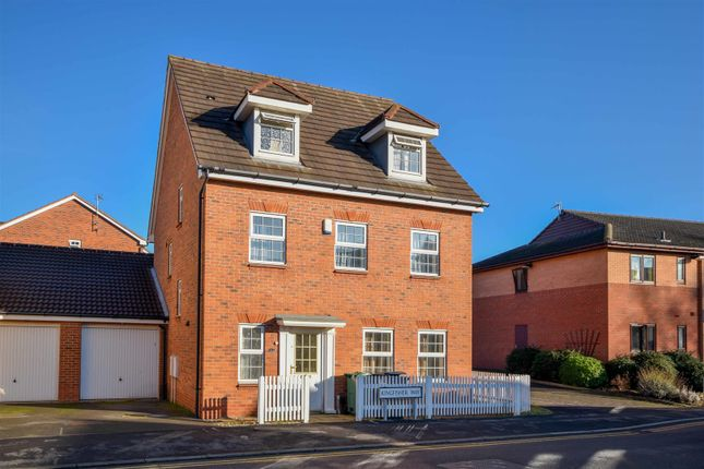 Thumbnail Detached house for sale in Kingfisher Way, Loughborough