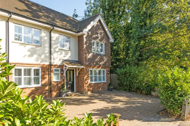 Thumbnail Semi-detached house for sale in Leatherhead Road, Oxshott, Leatherhead, Surrey