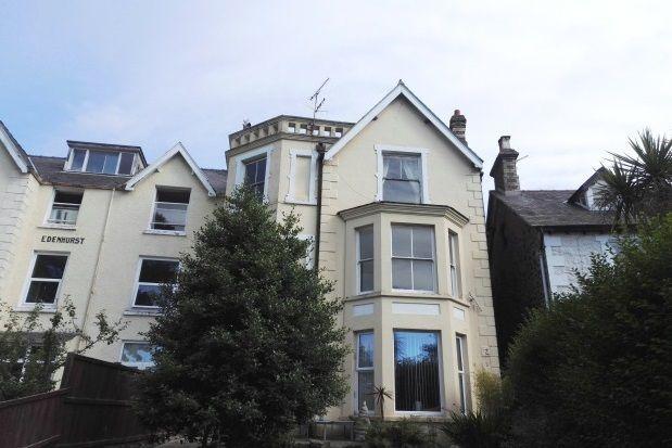 Thumbnail Flat to rent in Park Crescent, Llanfairfechan