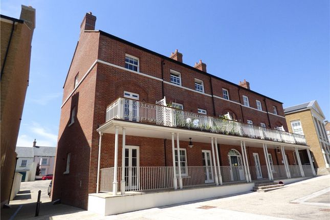 Thumbnail End terrace house to rent in Buttermarket, Poundbury, Dorchester