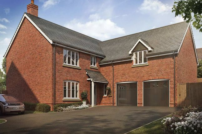 Thumbnail Detached house for sale in Dunmore Road, Little Bowden, Market Harborough