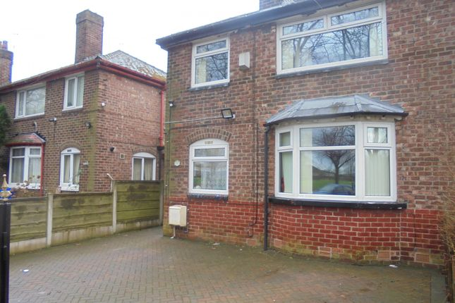 Thumbnail Semi-detached house for sale in Errwood Road, Manchester