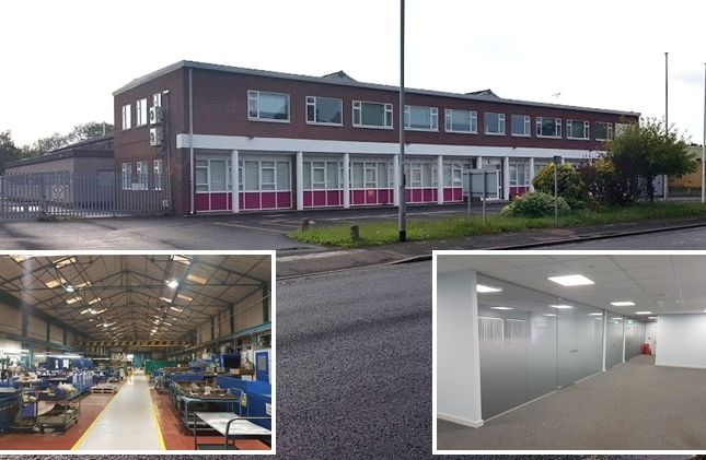 Thumbnail Industrial for sale in Heath Mill Road, Wombourne