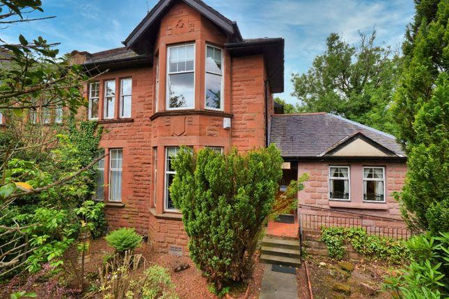 Thumbnail Semi-detached house for sale in Dumbreck Road, Dumbreck, Glasgow