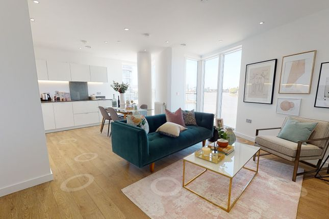 3 bed flat for sale in Banning Street, Royal Greenwich, London SE10