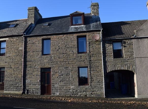 Thumbnail End terrace house for sale in Lower Dunbar Street, Wick