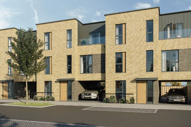 Thumbnail Town house for sale in Fen Street, Brooklands, Milton Keynes
