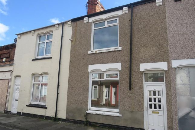 Thumbnail 2 bed terraced house for sale in Cornwall Street, Hartlepool