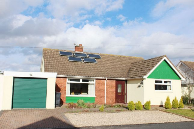 Thumbnail Detached bungalow for sale in Dillons Road, Creech St Michael, Taunton, Somerset