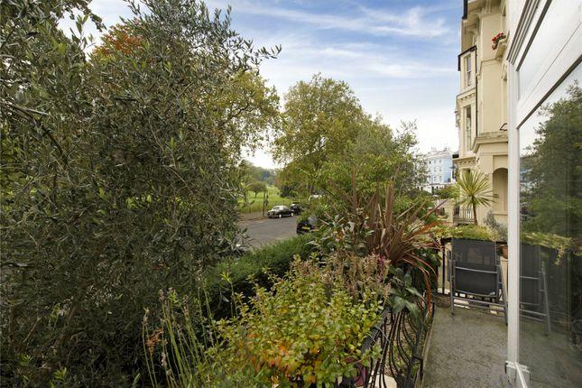 Balcony of Albert Terrace, Primrose Hill, London NW1