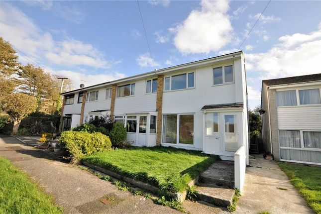 Thumbnail End terrace house for sale in Meadow Drive, Bude, Cornwall