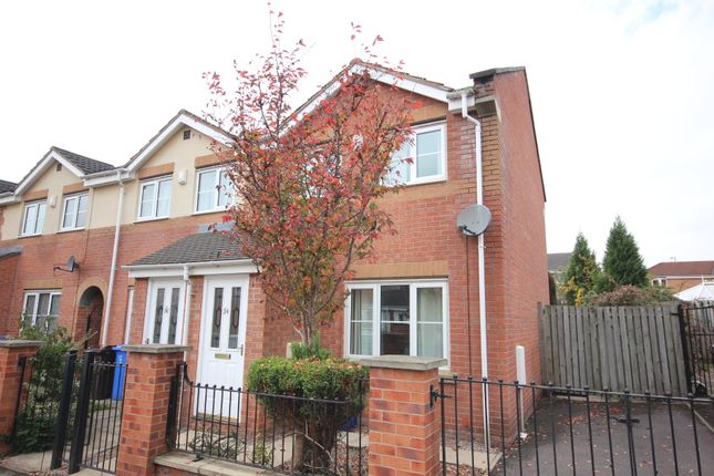 Thumbnail End terrace house to rent in Stirling Way, Sheffield