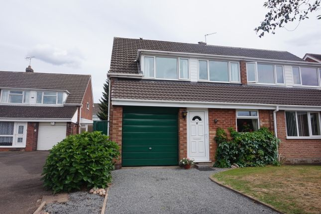 Thumbnail Semi-detached house for sale in Rowland Avenue, Polesworth, Tamworth