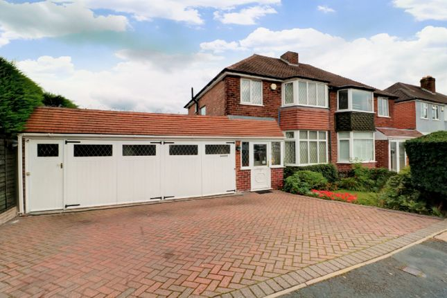 Thumbnail Semi-detached house for sale in Hollyhurst Road, Banners Gate, Sutton Coldfield