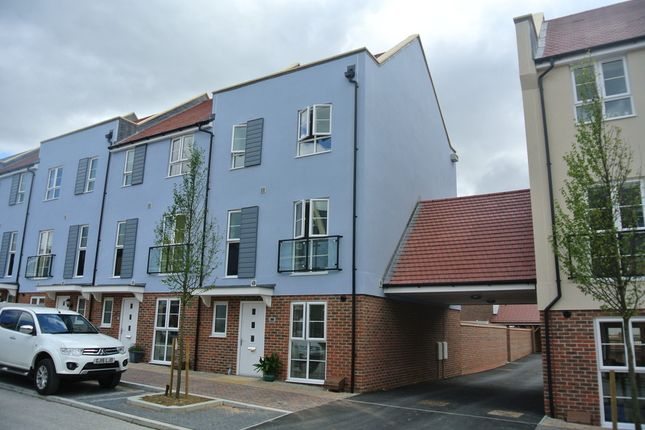 Thumbnail End terrace house to rent in Laurens Van Der Post Way, Ashford