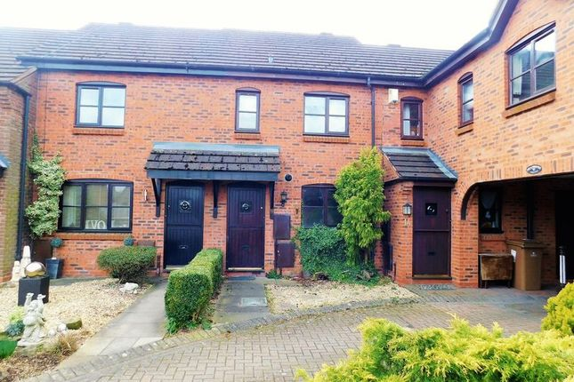 2 bed terraced house for sale in Pellfield Court, Weston, Stafford