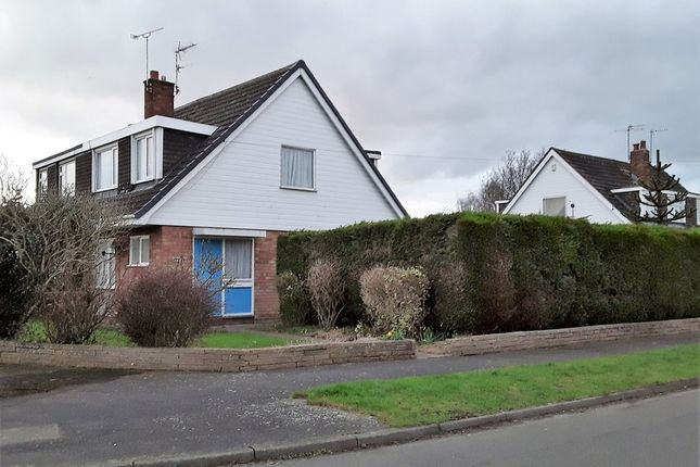 Thumbnail Semi-detached bungalow for sale in Sutherland Way, Vicars Cross, Chester