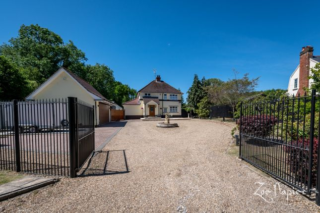 Thumbnail Detached house for sale in Sturmer Road, New England, Halstead