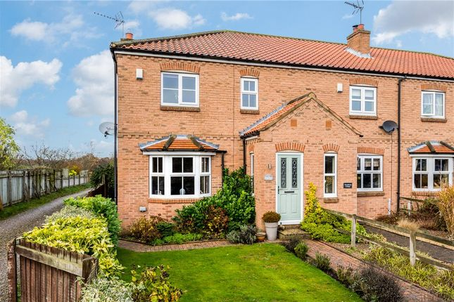 Thumbnail End terrace house for sale in Horseshoe Cottage, Oak Road, Cowthorpe, Wetherby