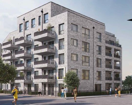 Thumbnail Flat for sale in Braithwaite House, Troubridge Square, Walthamstow, London