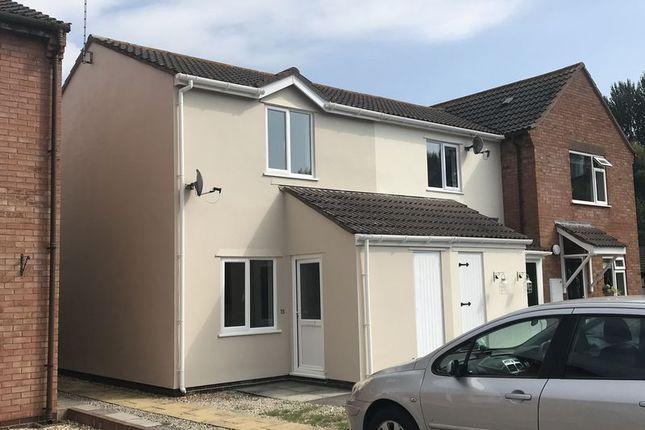 Thumbnail Semi-detached house to rent in Pembroke Close, Taunton, Somerset
