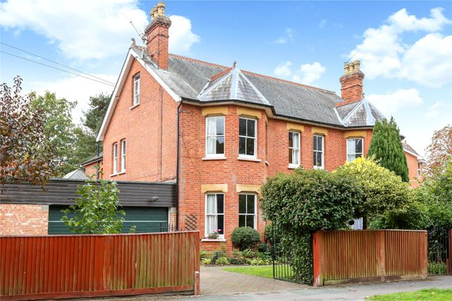 Thumbnail Semi-detached house for sale in Church Circle, Farnborough, Hampshire