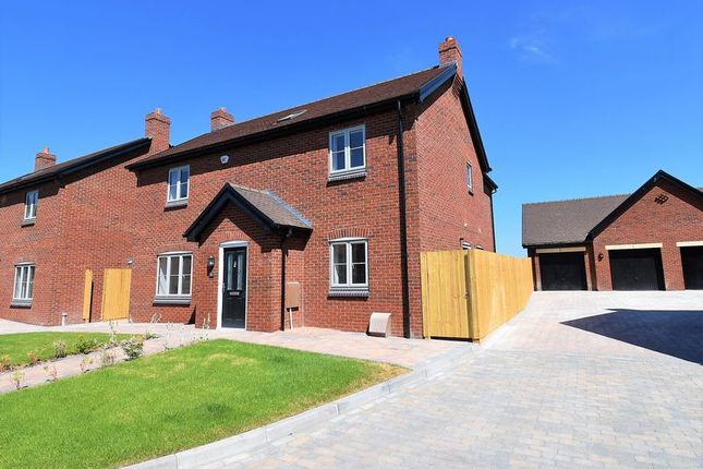 Thumbnail Detached house for sale in Rodington Fields, Rodington, Shrewsbury
