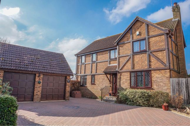 Thumbnail Detached house for sale in Bacon Hill, Olney
