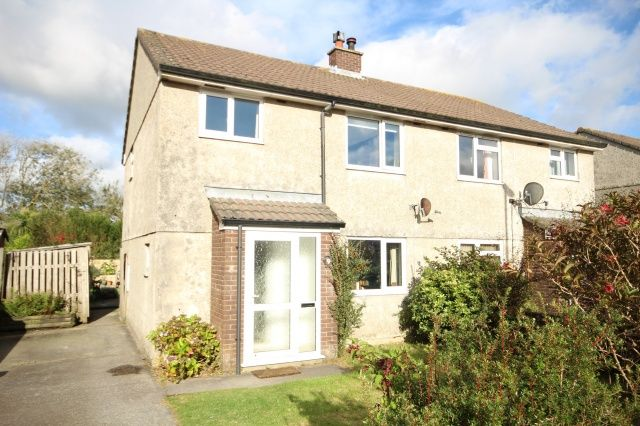 Roughtor Drive Camelford PL32 3 Bedroom Semi Detached House For