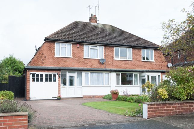 Thumbnail Semi-detached house for sale in Grove Vale Avenue, Great Barr, Birmingham