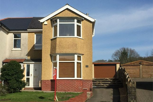 Thumbnail Semi-detached house for sale in Main Road, Bryncoch, Neath, West Glamorgan