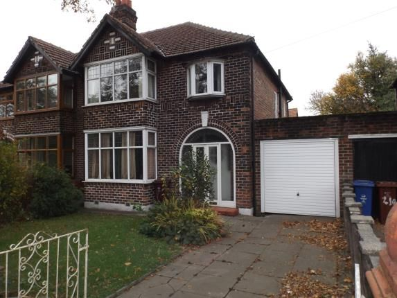 Thumbnail Semi-detached house for sale in Kingsway, Burnage, Manchester, Greater Manchester