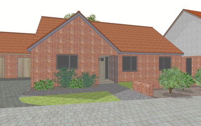 Thumbnail Detached bungalow for sale in East Way, Drayton, Abingdon