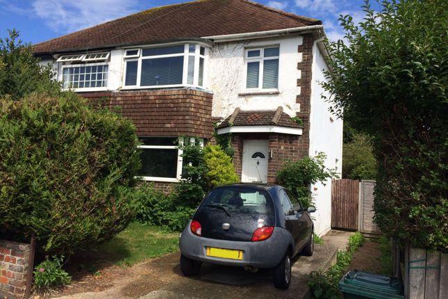3 bed semi-detached house for sale in Portfield Avenue, Brighton
