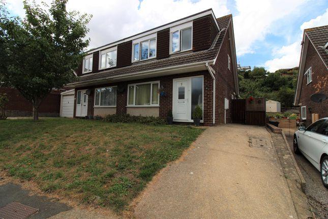 Thumbnail Semi-detached house to rent in Lancaster Drive, Paignton