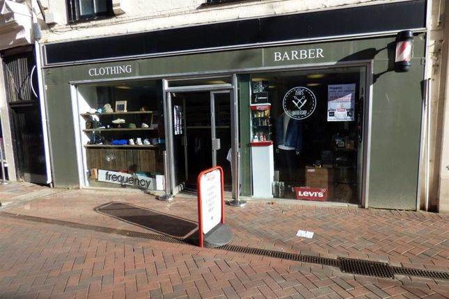 Retail premises for sale in St. Mary Street, Weymouth