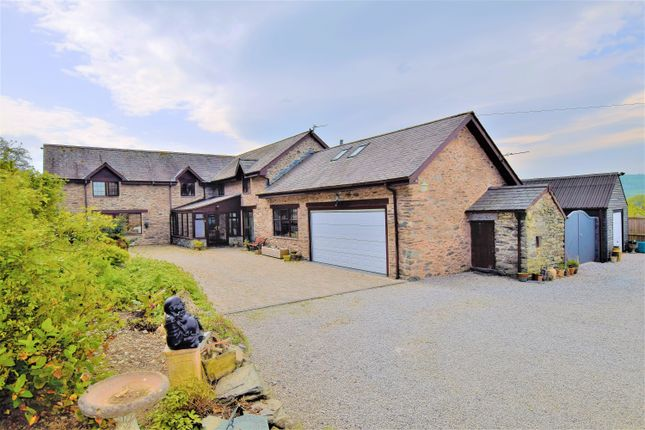 Thumbnail Detached house for sale in Cynwyd, Denbighshire
