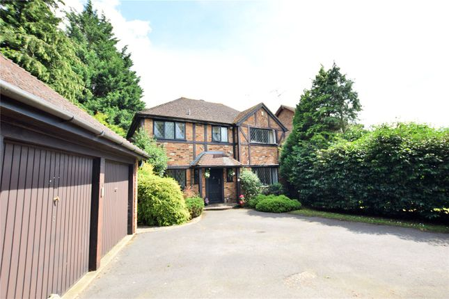 Thumbnail Detached house to rent in Lyndhurst Close, Martins Heron, Bracknell, Berkshire