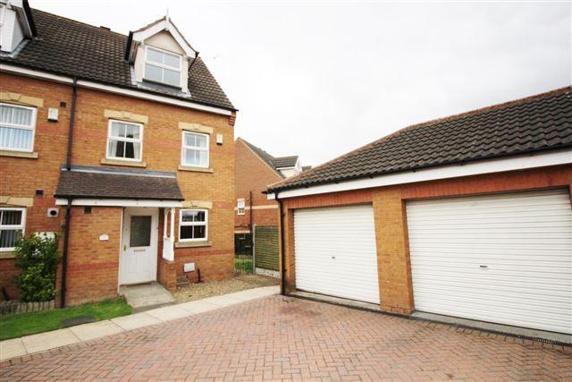Thumbnail End terrace house for sale in Oak Grove, Thurcroft, Rotherham
