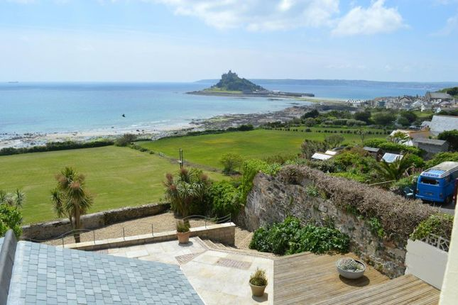 Thumbnail Semi-detached house for sale in Turnpike Road, Marazion, Cornwall