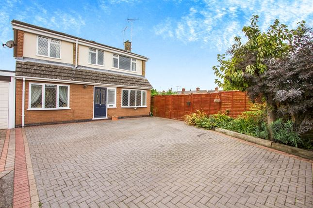 Thumbnail Detached house for sale in The Elms, Blaby, Leicester