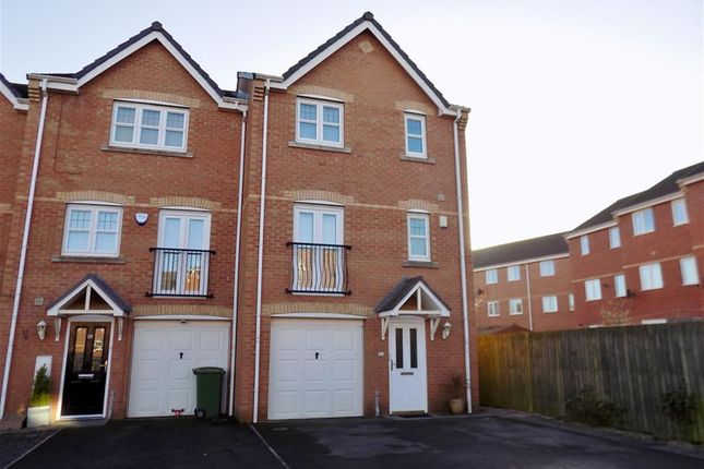 Thumbnail End terrace house for sale in Nightingale Drive, Stockton-On-Tees