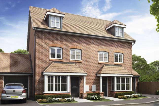 "Thumbnail End terrace house for sale in ""Woodbridge"" at Taylor Close, Harrietsham, Maidstone"