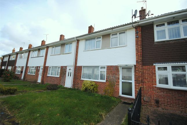 Thumbnail Terraced house to rent in Crosstree Walk, Colchester