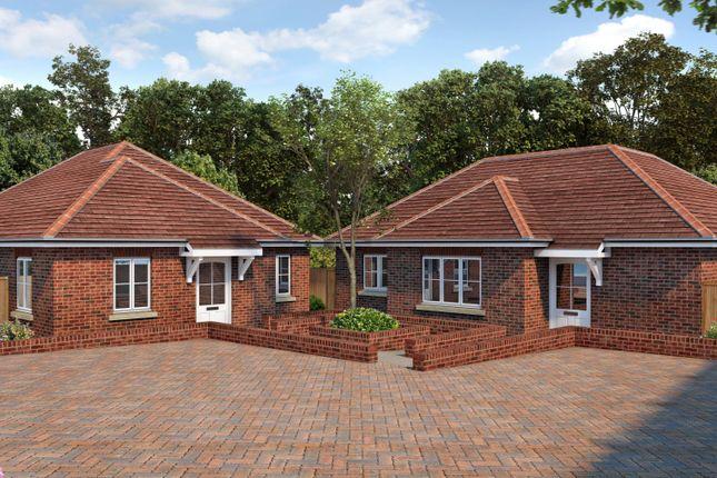Thumbnail Detached bungalow for sale in Coombe Farm Avenue, Fareham, Hampshire
