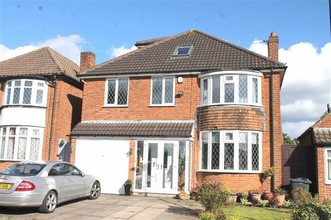 Thumbnail Detached house for sale in Newburn Croft, Quinton, Birmingham