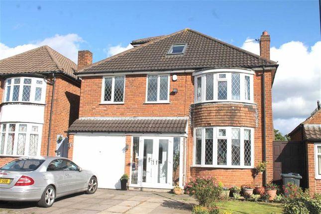 Thumbnail Detached house for sale in Newburn Croft, Quinton, Birmingham